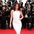 """Barbara Palvin - Montée des marches du film """"The Search"""" lors du 67 ème Festival du film de Cannes, le 21 mai 2014."""