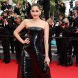 """Araya A. Hargate  - Montée des marches du film """"The Search"""" lors du 67 ème Festival du film de Cannes, le 21 mai 2014."""