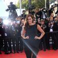 """Claudia Vieira divine sur tapis rouge pour la montée des marches du film """"Sils Maria"""" lors du 67 ème Festival du film de Cannes, à Cannes le 23 mai 2014"""
