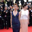 Bianca Balti au Palais des Festivals pour la montée des marches du film Sils Maria, lors du 67e Festival de Cannes, le 23 mai 2014