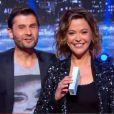"""""""Les animateurs Sandrine Quétier et Christophe Beaugrand dans Tout est permis, le 24 mai 2014 sur TF1."""""""