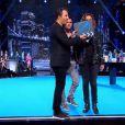 """""""Arthur, Sandrine Quétier et Christophe Beaugrand dans Tout est permis, le 24 mai 2014 sur TF1."""""""