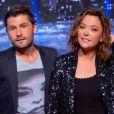 """""""Sandrine Quétier et Christophe Beaugrand dans Tout est permis, le 24 mai 2014 sur TF1."""""""