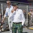 Jackie Stewart dans le paddock du Grand Prix de Monaco, le 25 mai 2014