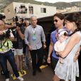 Tamara Ecclestone, son mari Jay Rutland et leur fille Sophia - People au Grand Prix de Formule 1 de Monaco. Le 25 mai 2014 25/05/2014 - Monaco