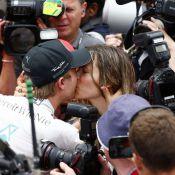 Nico Rosberg : Le baiser fougueux de sa belle Vivian après sa victoire à Monaco