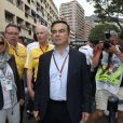 Carlos Ghosn lors du Grand Prix de Monaco le 25 mai 2014