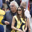 Flavio Briatore et Elisabetta Gregoraci lors du Grand Prix de Monaco le 25 mai 2014