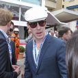 Benedict Cumberbatch lors du Grand Prix de Monaco le 25 mai 2014