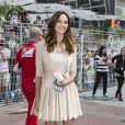 Tasha De Vasconcelos lors du Grand Prix de Monaco le 25 mai 2014