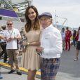 Tasha De Vasconcelos, Jacky Stewart lors du Grand Prix de Monaco le 25 mai 2014