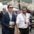 Benedict Cumberbatchlors du Grand Prix de Monaco le 25 mai 2014