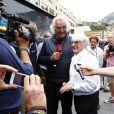 Flavio Briatore et Bernie Ecclestone lors du Grand Prix de Monaco le 25 mai 2014