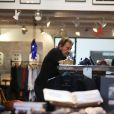 Johnny Hallyday fait du shopping chez John Varvatos à Malibu, le 25 mai 2014.