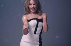 Kylie Minogue : Glamour et engagée dans le clip très sobre de ''Crystallize''