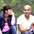 Pep Guardiola et son épouse Cristina Serra à New York le 4 octobre 2012.