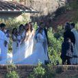 Exclusif - Mariage de Kim Kardashian et Kanye West au Fort Belvedere à Florence en Italie le 24 mai 2014.