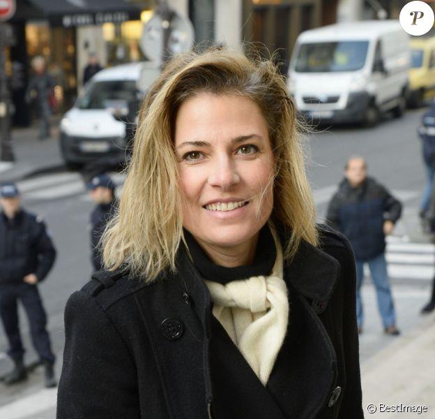 Christine Lemler - Hommage à Georges Lautner en l'église Saint-Roch à Paris. Le 5 décembre 2013.