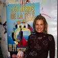 """Christine Lemler - Ouverture du Premier Festival de la télévision de Beausoleil """"Les héros de la télé"""", le 19 octobre 2012."""