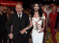 Life Ball 2014 : Conchita Wurst rayonne au bras de Jean-Paul Gaultier