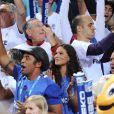 Yelena Noah avec son père à l'Euro 2011.