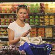 Cameron Diaz fait ses courses à Whole Foods à Beverly Hills, le 17 mai 2014.