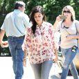 Kourtney Kardashian and Scott Disick à New York le 2 juin 2014