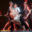 """Carmen Maria Vega, dans le rôle de Mistinguett - Showcase de la comédie musicale """"Mistinguett, reine des années folles"""" au Casino de Paris, le 3 juin 2014."""