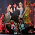"""Fabian Richard - Showcase de la comédie musicale """"Mistinguett, reine des années folles"""" au Casino de Paris, le 3 juin 2014."""