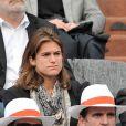 Amélie Mauresmo à Roland-Garros à Paris, le 4 juin 2014.