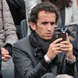 Alexandre Bompard à Roland-Garros à Paris, le 4 juin 2014.