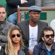 Sylvain Wiltord à Roland-Garros à Paris, le 4 juin 2014.