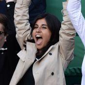 Reem Kherici et Anne Parillaud: Folle ambiance à Roland-Garros pour Gaël Monfils