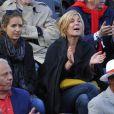 Michele Laroque à Roland-Garros à Paris, le 4 juin 2014.