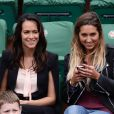Karine Lima, Alice Arutkin à Roland-Garros à Paris, le 4 juin 2014.