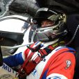 David Hallyday lors des essais pour les 24 heures du Mans. Le Mans, le 1er juin 2014.