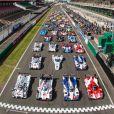Essais pour les 24 heures du Mans sur le Circuit des 24 heures. Le Mans, le 1er juin 2014.