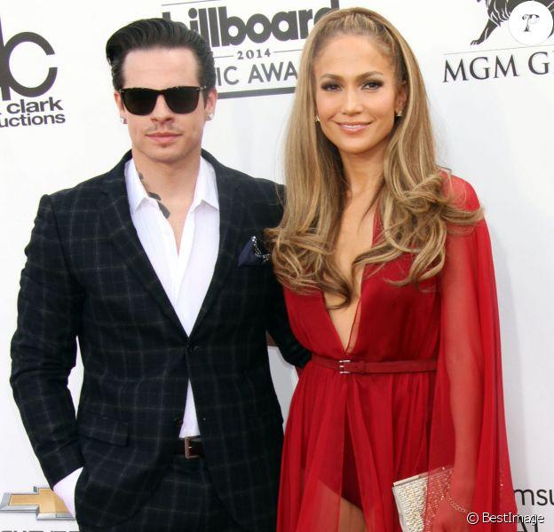 Jennifer Lopez et son petit ami Casper Smart lors de la cérémonie des Billboard Music Awards 2014 à Las Vegas, le 18 mai 2014.
