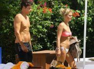 Caroline Receveur : Sexy en bikini à Miami avec son fiancé Valentin !