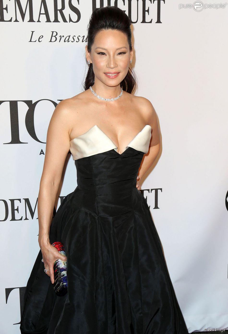 """Lucy Liu à la 68e cérémonie des """"Tony Awards"""" à New York, le 8 juin 2014."""
