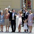 Le baptême de la princesse Leonore de Suède a été célébré le 8 juin 2014 au palais Drottningholm, à Stockholm