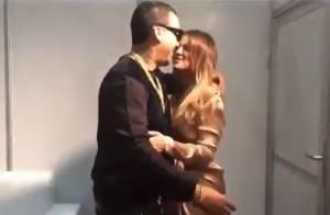 Khloé Kardashian et French Montana : Ils s'embrassent en Afrique