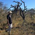 French Montana en plein safari en Afrique du Sud.