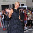 "La princesse Mette-Marit de Norvège lors de la soirée ""amfAR Inspiration Gala"" au Plaza Hotel de New York, le 10 juin 2014."