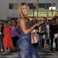 """Laverne Cox lors de la soirée """"amfAR Inspiration Gala"""" au Plaza Hotel de New York, le 10 juin 2014."""
