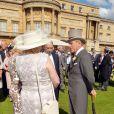 Le prince Philip, duc d'Edimbourg, à la garden party organisée le 10 juin 2014, jour de ses 93 ans, à Buckingham Palace