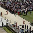 Image de la garden party organisée à Buckingham Palace le 10 juin 2014