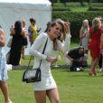 Jude Cissé, ex de Djibril, lors d'un match de polo à Cheshire, le 11 juin 2014.