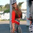 """Jennifer Lopez sort le grand jeu et secoue son célèbre popotin dans """"Booty"""", titre dédié aux fesses et prochain extrait de son album """"A.K.A"""", dans les bacs le 17 juin 2014."""