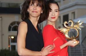 Cabourg 2014 : Sophie Marceau et Laura Smet, lumineuses face à Emmanuelle Béart